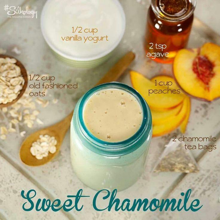 Chamomile smoothie | Smoothie and juice | Pinterest