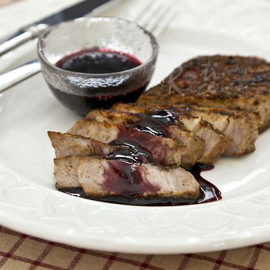 Pan Roasted Pork Loin Chops | Roti n Rice
