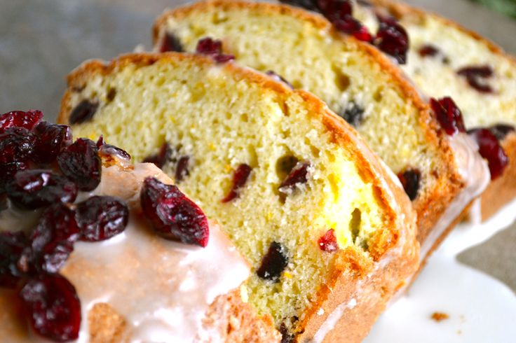 Cranberry Orange Bread | Recipe