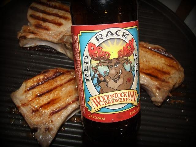 Beer Brined Grilled Pork Chops | Brews | Pinterest