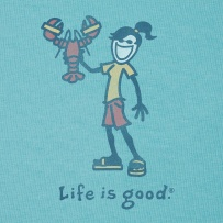 Lobster Jackie - I love Life is Good shirts (they are SO soft!) and I love lobster!