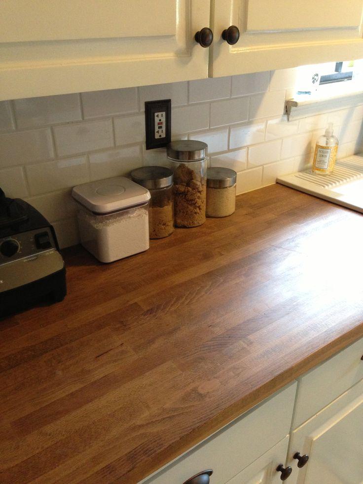 Butcher Block Countertops Kitchens Pinterest