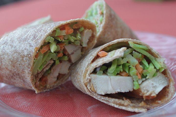 Thai Chicken wraps | My FAVORITE KOSHER FOOD Recipes | Pinterest