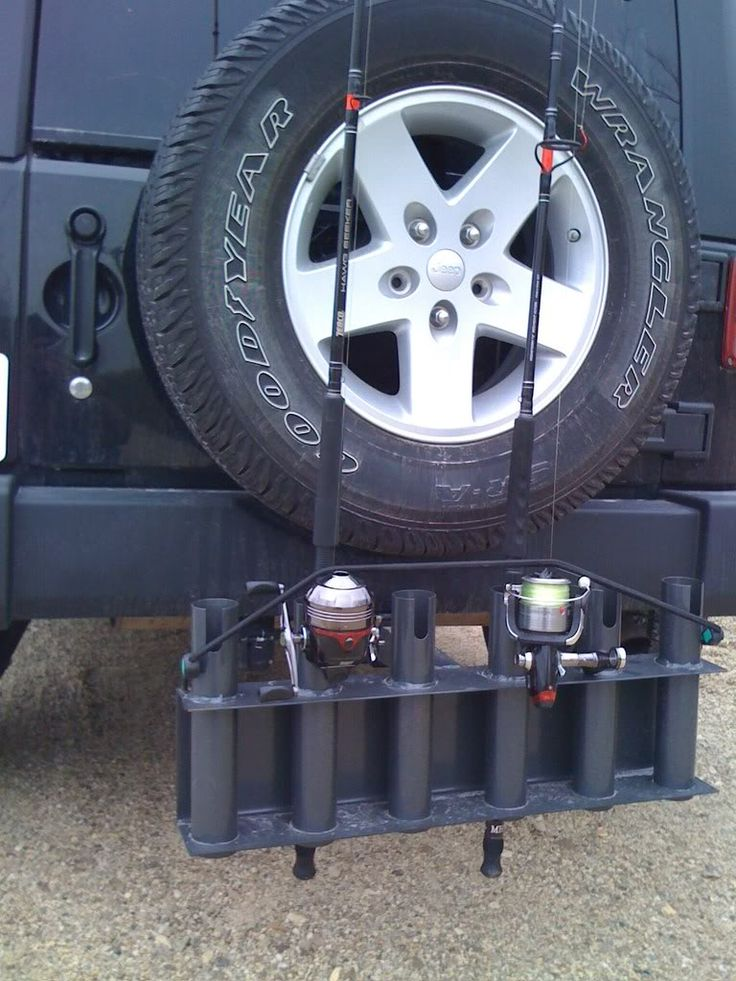 jeep wrangler fishing rod holder car interior design