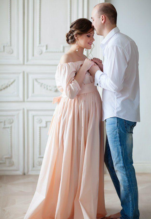 Платья для беременной для фотосессии 79