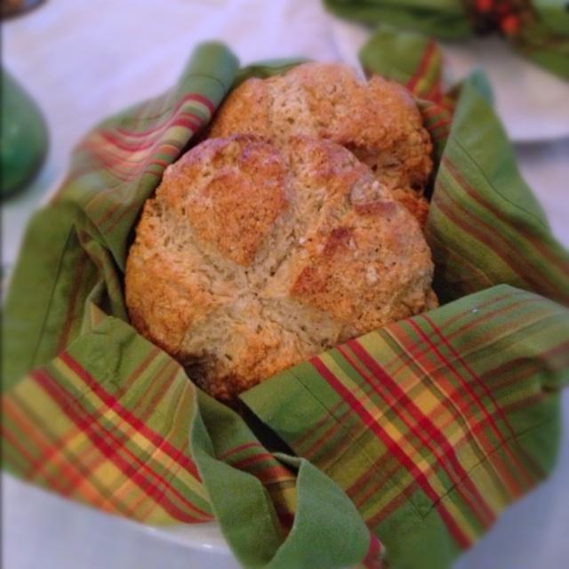 Brown butter Irish soda bread | Appetizers | Pinterest