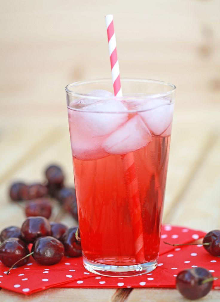 think the kids will homemade cherry soda homemade cherry soda is ...