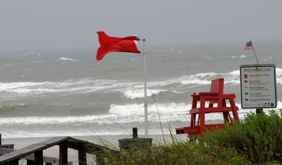 tropical storm flag
