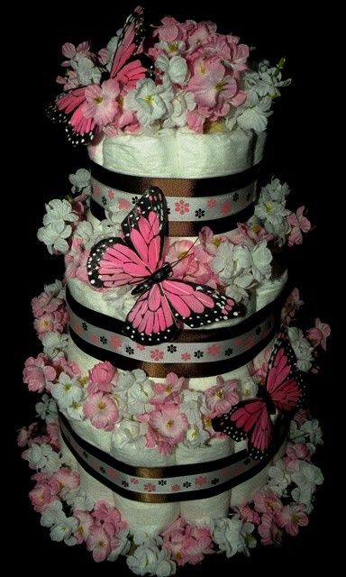 I want this diaper cake for my baby shower one day..