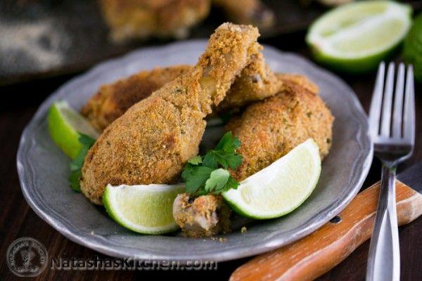 Breaded Baked Chicken Drumsticks | Recipe