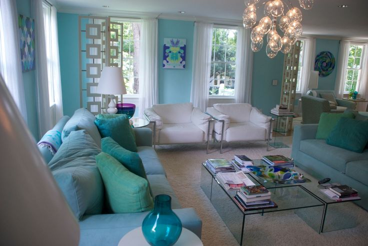 turquoise rooms