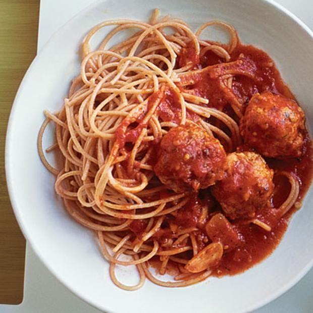 Turkey Meatballs And Spaghetti | Meatballs: Beef Fish Turkey Pork | P ...