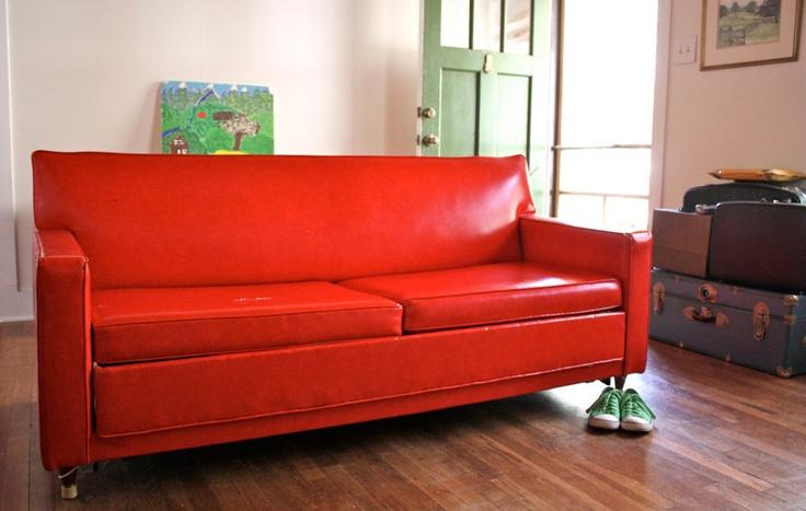 Vintage Castro Convertible Sleep Sofa Home Decor
