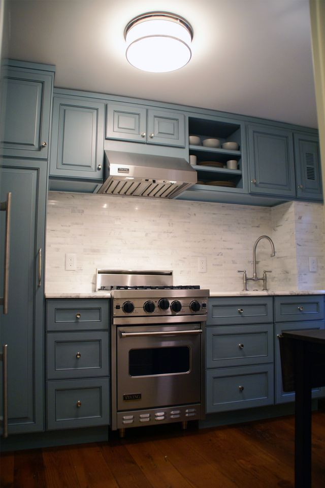Modern colonial kitchen kitchens pinterest for Colonial style kitchen cabinets