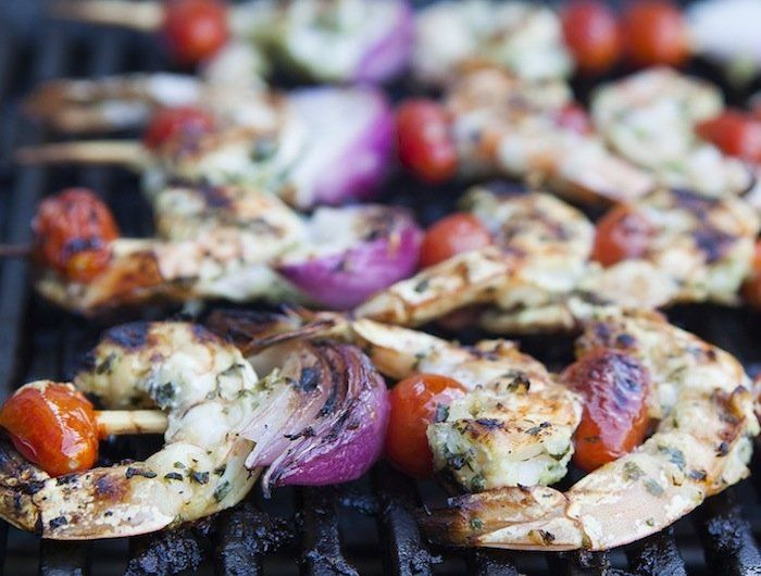 Grilled Shrimp Skewers | Gluten Free | Pinterest