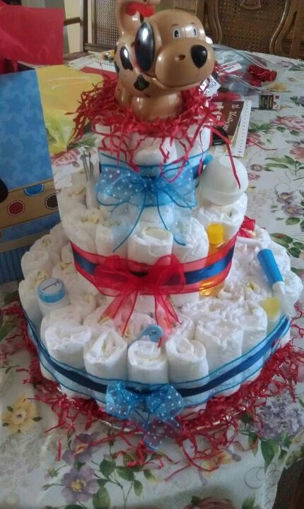 4th of july baby shower cakes