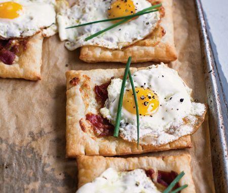 Bacon & Egg Breakfast Tarts | good morning sunshine | Pinterest