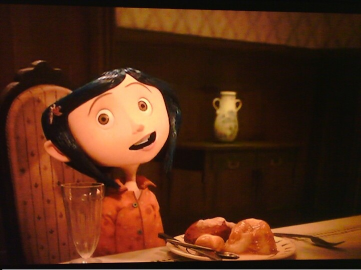 Coraline at dinner table coraline pinterest for Table 9 movie