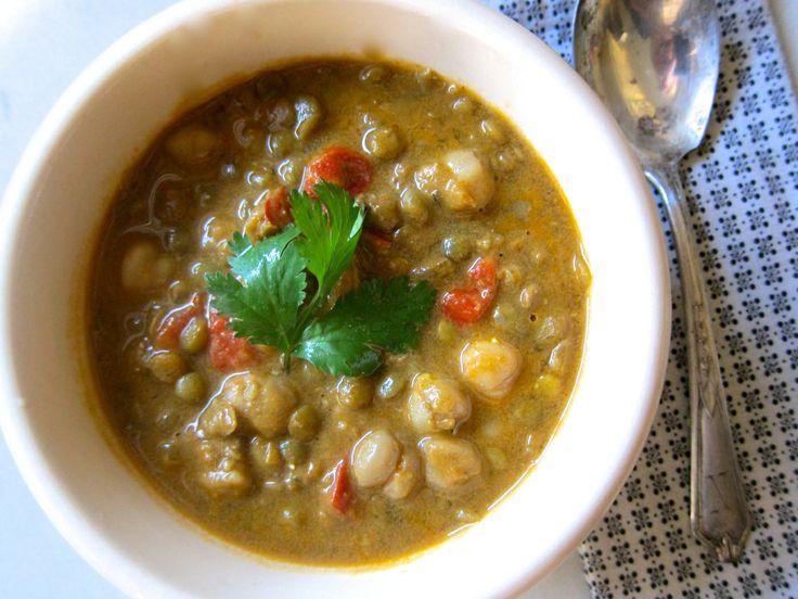Coconut Curry Lentil Soup | Food | Pinterest