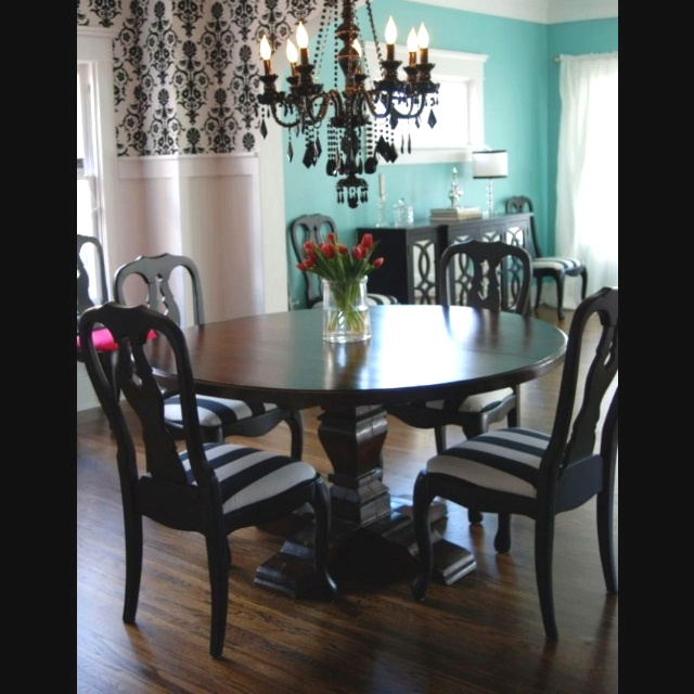 beautiful dining room black and white house pinterest