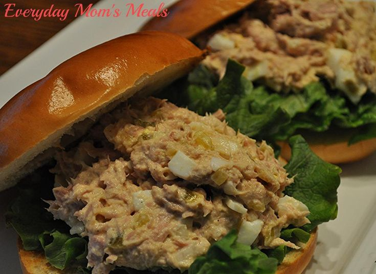 Martha's Favorite Tuna Salad Sandwich Recipe — Dishmaps