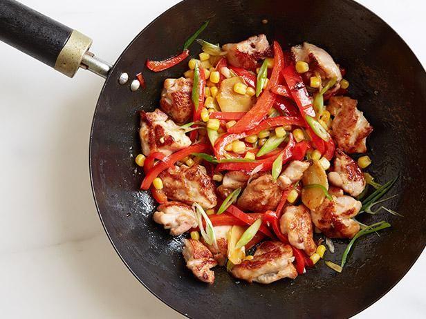 Chicken, Pepper and Corn Stir-Fry | Recipe