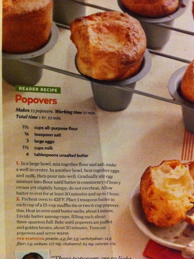 Popovers | Popovers | Pinterest