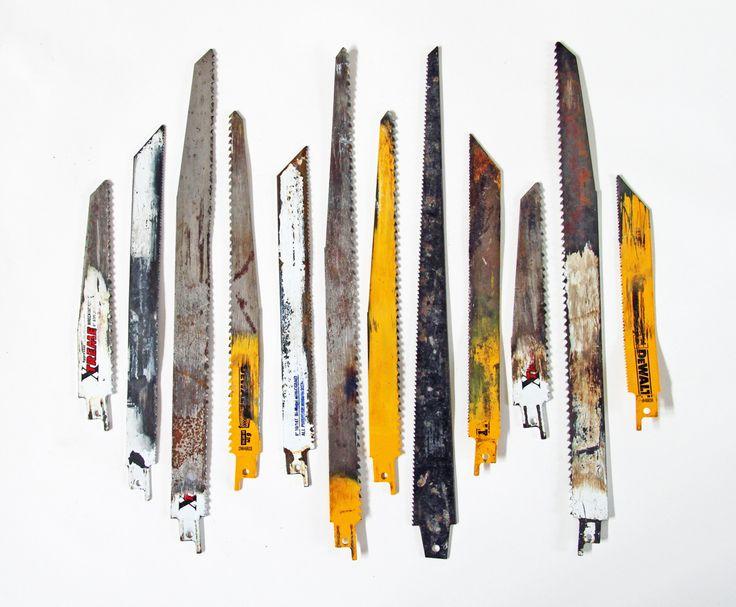 Used Sawzall blades