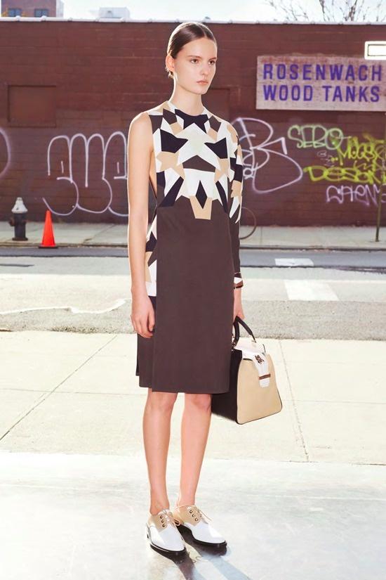 Givenchy pre-fall 2013 lookbook.