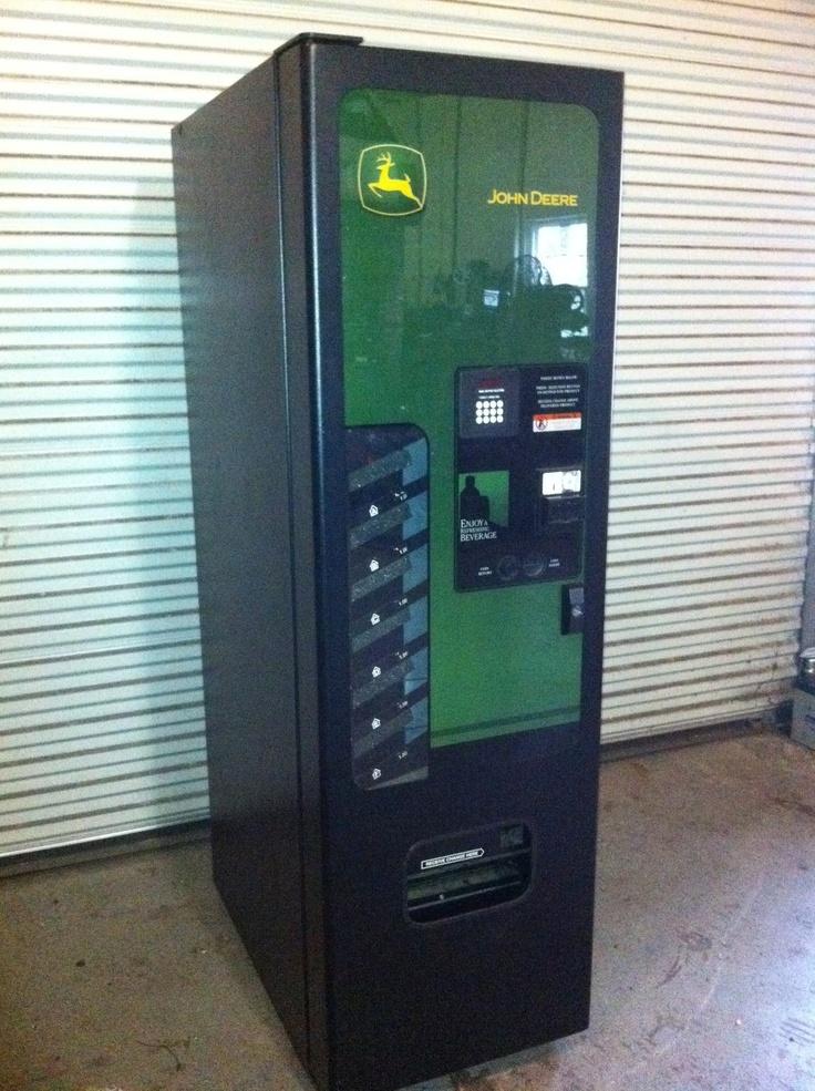 Man Cave Vending Machine : John deere soda vending machine great condition
