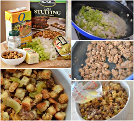 More like this: stuffing , sausage and thanksgiving stuffing .