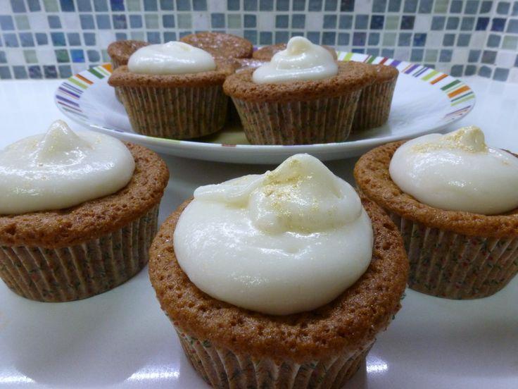 Honey Cupcakes   New Year   Pinterest