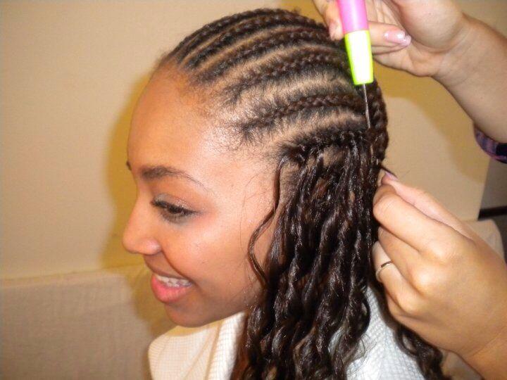 crochet hair Hair Pinterest