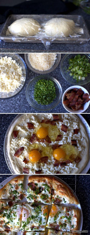 Breakfast Pizza | Breakfast is served | Pinterest