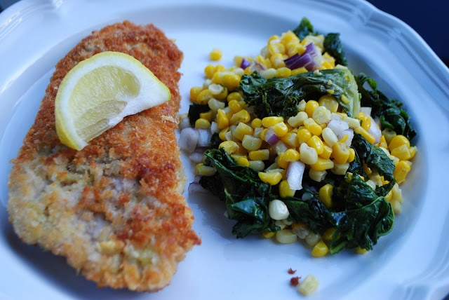 Turkey Cutlets with Crunchy Panko-Parmesan Crust is to DIE FOR. pair ...