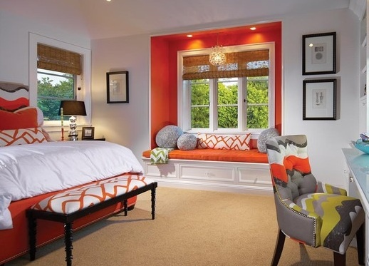 colorful nook and happy colors bedrooms pinterest