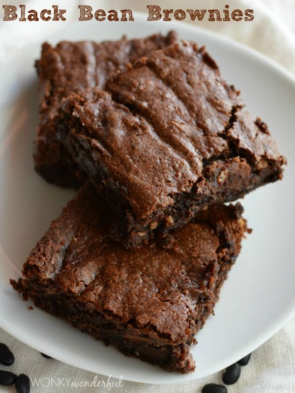 Black Bean Brownies | Yummy | Pinterest