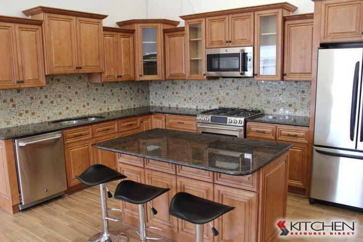 Largo Maple Cinnamon Glaze Photo Gallery  Discount Kitchen Cabinets