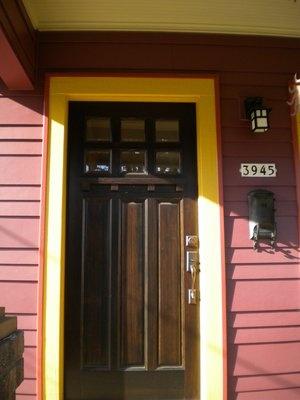 1920s bungalow front door i love it andy 39 s home ideas for 1920s door design