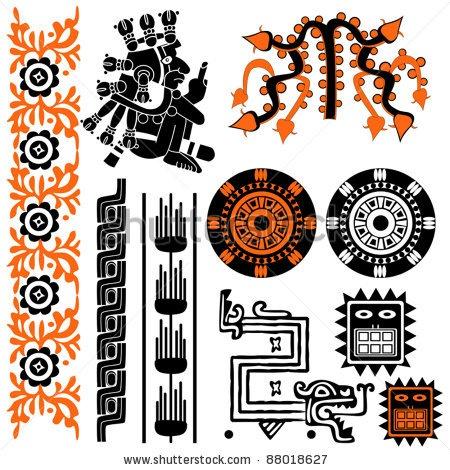 mayan symbols mayan an tattoo art work pinterest