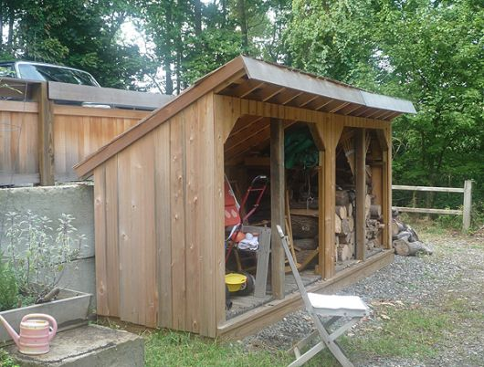 open wood shed plans once upon a backyard pinterest