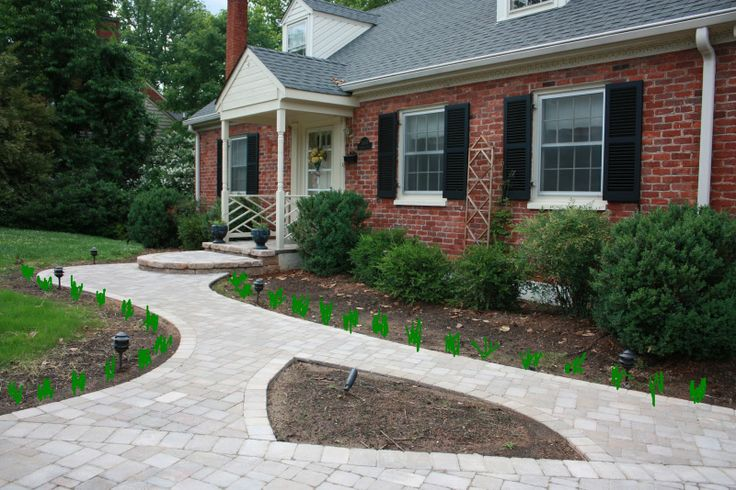 Walkway ideas backyard pinterest for Walkway ideas on a budget