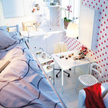 Petit espace deco truc pinterest - Deco chambre petit espace ...