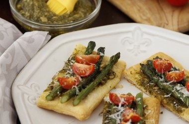 Asparagus Parmigiano Puffs | Healthy food that LOOKS delish! | Pinter ...