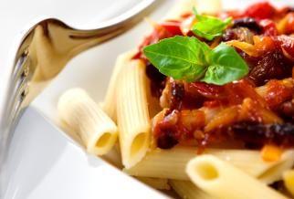 Penne with Eggplant Puree | Recipe