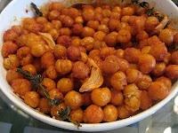 Smoky fried chick peas, yum.   Perpetually Hungry   Pinterest