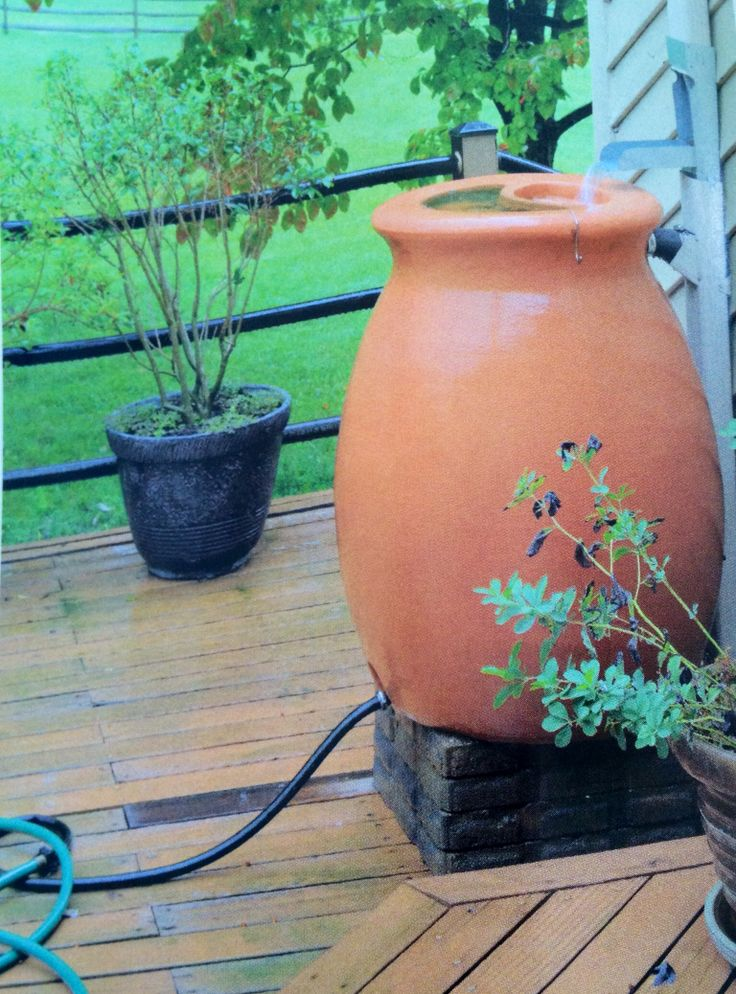 Rain barrel with downspout diverter | Home upgrading Ideas ...