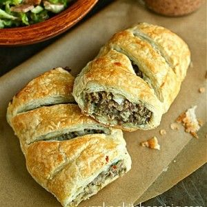 Sausage-rolls | Recipes to try | Pinterest