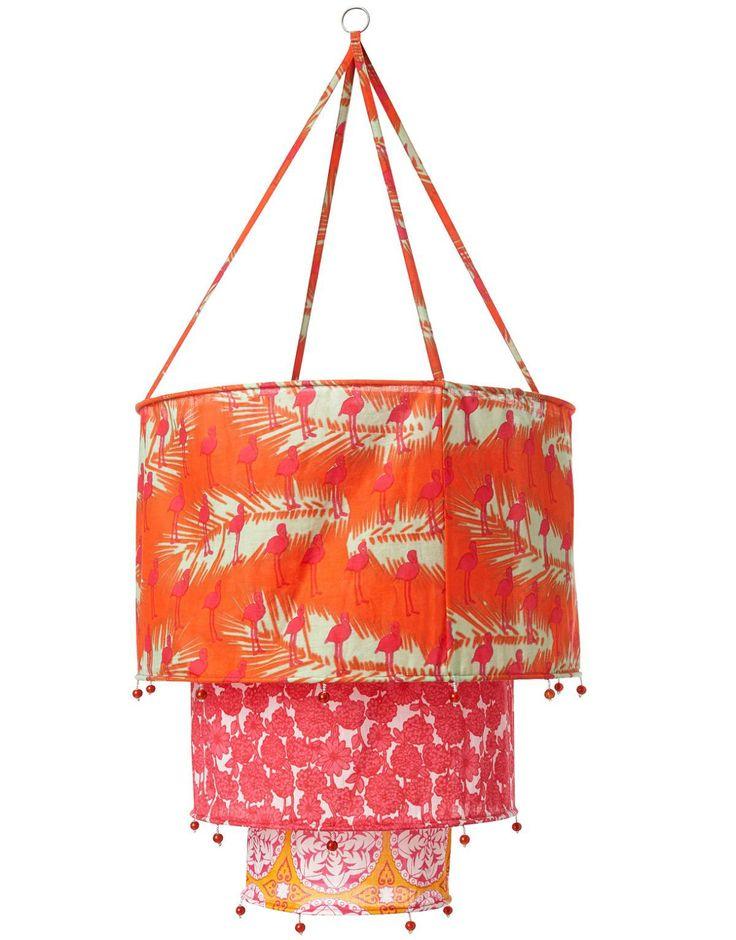 FABRIC SHADE textilskärm korall | Various | Övrig inredning | Inredning | INDISKA Shop Online