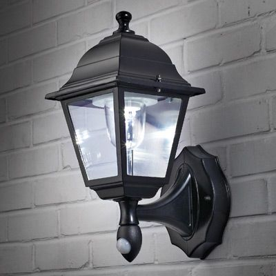 motion activated outdoor wall sconce decorative outdoor lighting. Black Bedroom Furniture Sets. Home Design Ideas